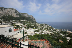 Coastline of Capri island, Capri, Italy Royalty Free Stock Photo