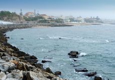 Coastline at Cascais, Portugal Stock Image