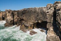 Coastline of Cascais Royalty Free Stock Photo