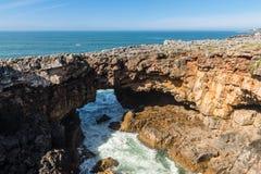Coastline of Cascais Royalty Free Stock Image