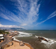 Coastline of China Royalty Free Stock Images