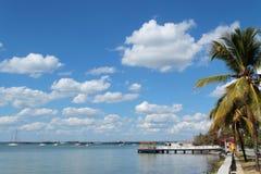 Coastline in Cienfuegos Royalty Free Stock Photo