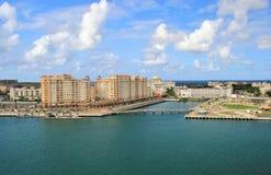 Coastline and city views along Old San Juan , Puerto Rico. Coastline and city views along the island of Old San Juan , Puerto Rico stock images