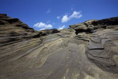Coastline Cliff Rock Formation Stock Photography