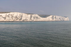 The coastline with cliffs near the Dover Royalty Free Stock Photos