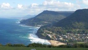 Coastline Cliffs Stock Photography