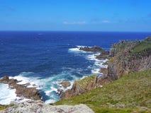 Free Coastline Cliffs With Crashing Waves Royalty Free Stock Photos - 111803828