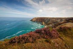 Coastline in Cornwall, UK. Stock Images
