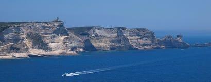 Coastline corsica Stock Images