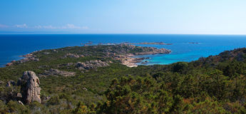 Coastline corsica Royalty Free Stock Images