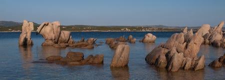 Coastline corsica. Coastline of corsica in France Royalty Free Stock Photos