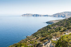 Coastline Corsica Royalty Free Stock Photography