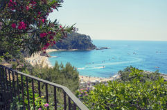 The coastline of Costa Brava, Spain. Royalty Free Stock Photos