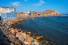 Coastline of Costa Calida in Murcia region Royalty Free Stock Images