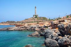 Coastline of Costa Calida in Murcia region, Spain Royalty Free Stock Photography