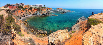 Coastline of Costa Calida in Murcia region, Spain Royalty Free Stock Image
