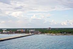 Coastline of Costa Maya Stock Photos