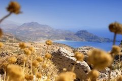 Coastline in Crete Stock Photography