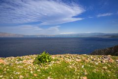 Coastline of Crete, Greece. Coastline of Balos peninsula on Crete, Greece Royalty Free Stock Photos