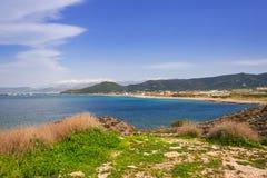 Coastline of Crete, Greece. Coastline of Balos peninsula on Crete, Greece Stock Images