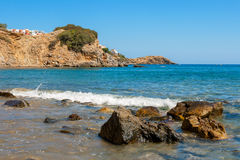 Coastline. Crete, Greece Royalty Free Stock Images