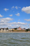 Coastline Crotoy Normandy Royalty Free Stock Photos