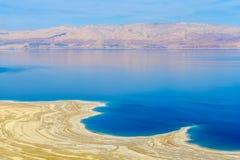 Coastline of the Dead Sea Royalty Free Stock Photography