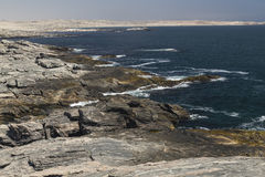 Coastline at Diaz Point, Namibia, Africa Royalty Free Stock Photo