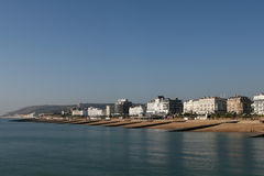 Coastline at Eastbourne Royalty Free Stock Image