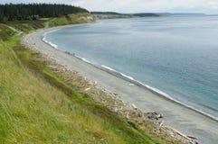 Coastline in ebey's landing Royalty Free Stock Photos