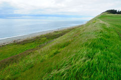 Coastline in ebey's landing Royalty Free Stock Images
