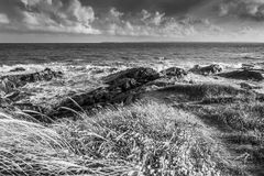 Coastline in France Brittany Royalty Free Stock Photography