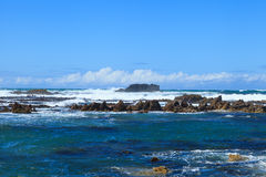 Coastline of Gansbaai Royalty Free Stock Photography
