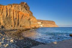 Coastline of Gran Canaria island Stock Photos