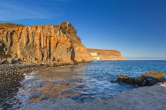 Coastline of Gran Canaria island Royalty Free Stock Image