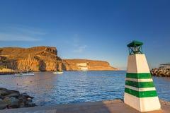Coastline of Gran Canaria island Royalty Free Stock Photos