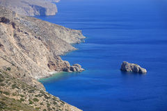 Coastline of Greece Stock Photography