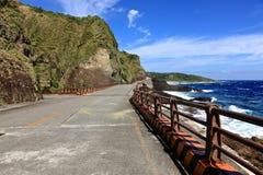 Coastline,Green Island,Taiwan Stock Images