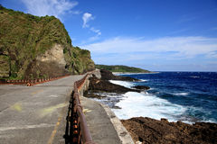 Coastline,Green Island,Taiwan Stock Photo