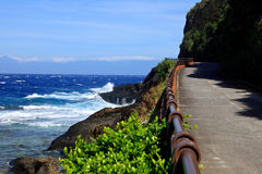 Coastline,Green Island,Taiwan Royalty Free Stock Photos
