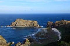 Coastline,Green Island,Taiwan Stock Photography