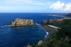 Coastline,Green Island,Taiwan Royalty Free Stock Image