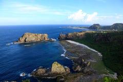 Coastline,Green Island,Taiwan Stock Image