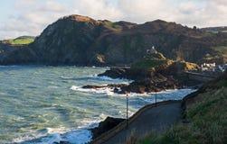 Coastline at Ilfracombe, Devon, England Stock Photo