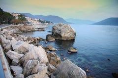 Coastline Herceg Novi, Montenegro Stock Images