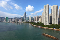 Coastline in Hong Kong Stock Photos