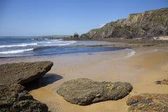 Coastline at Hope Cove, Devon, England Royalty Free Stock Photos