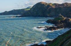 Coastline at Ilfracombe, Devon, England Royalty Free Stock Photo