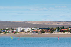 Coastline In Puerto Madryn, Argentina Royalty Free Stock Photo