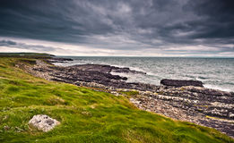 Coastline in Ireland Royalty Free Stock Photos